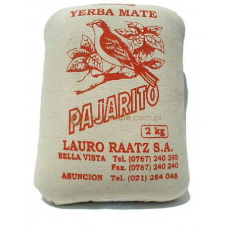 Pajarito Tradicional 2kg, w lnianym worku